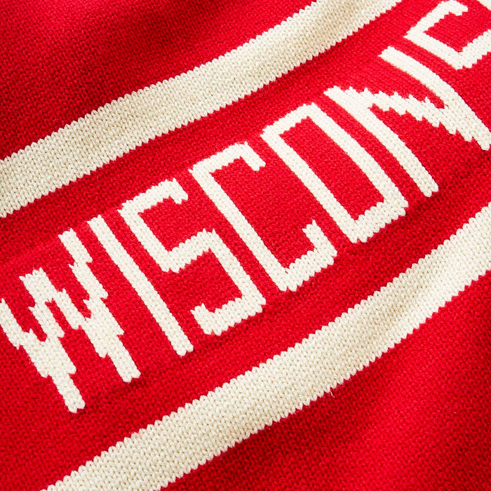 Wisconsin Retro Stadium Sweater
