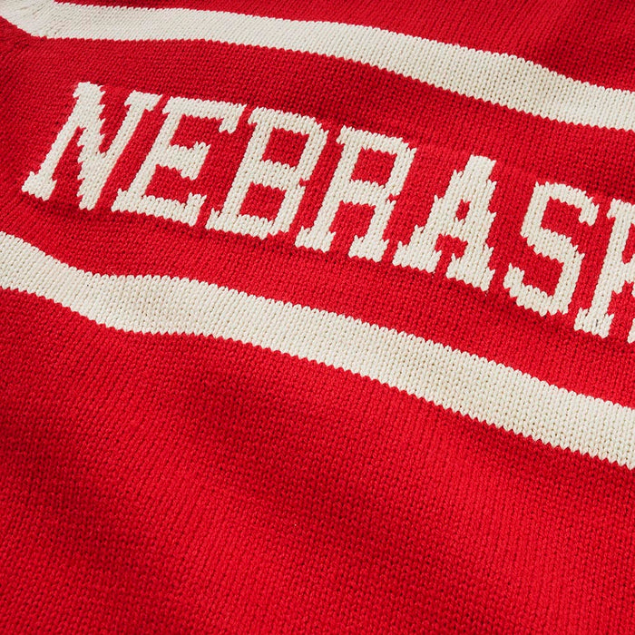 Nebraska Retro Stadium Sweater