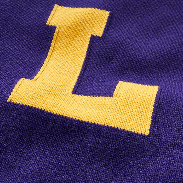 LSU Vintage Letter Sweater