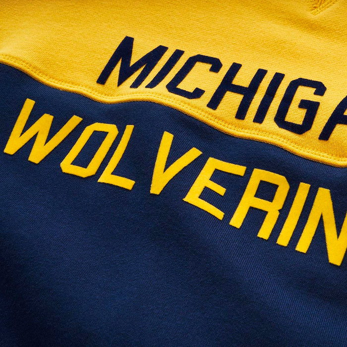 University of Michigan | Colorfield Sweatshirt (Maize) | Michigan Wolverines Apparel