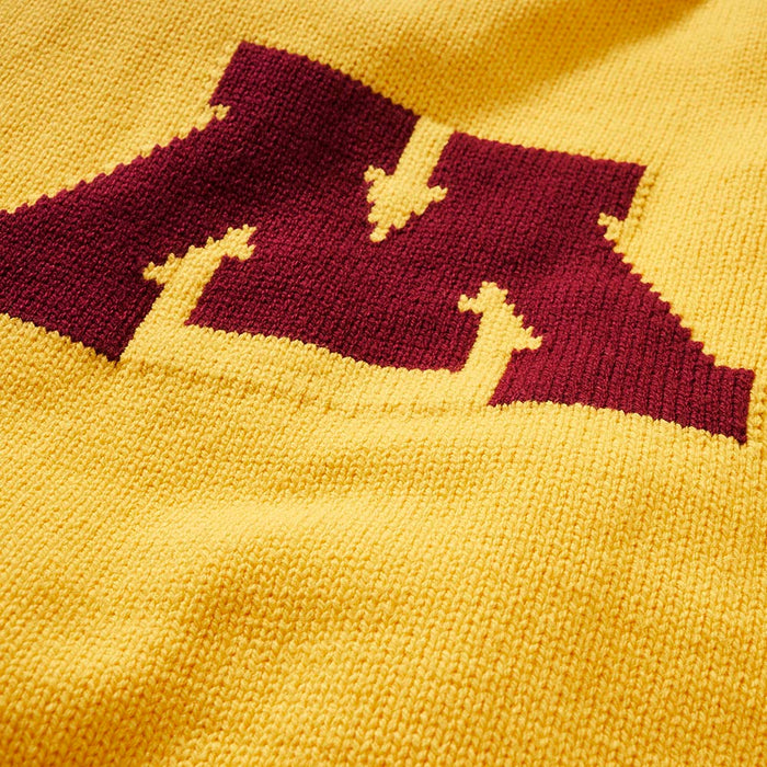 Minnesota Letter Sweater (Gold)