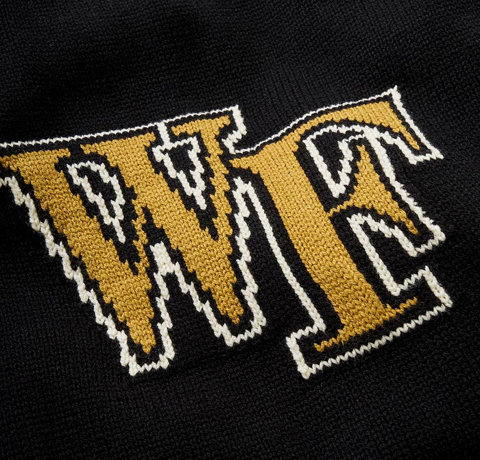 Merino Wake Forest Letter Sweater