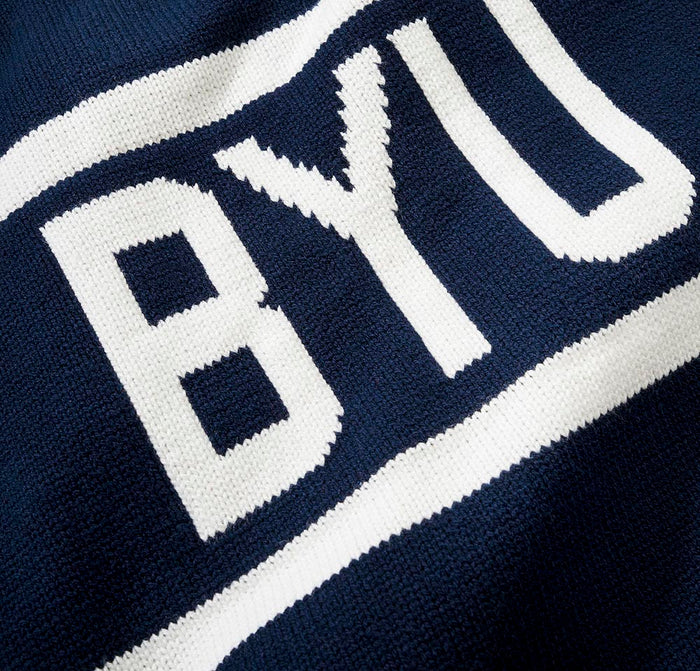 BYU Stadium Sweater
