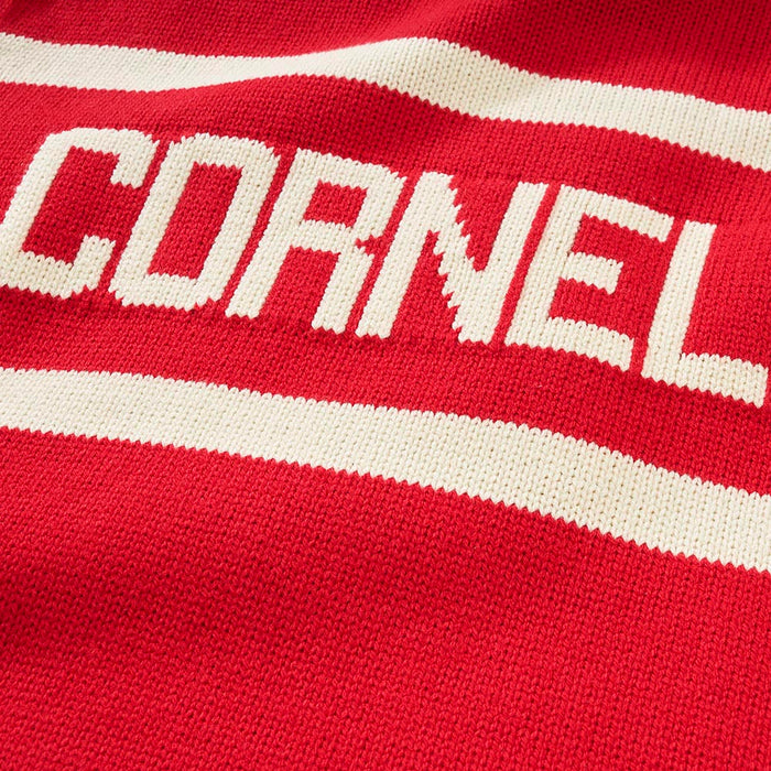 Cornell Retro Stadium Sweater