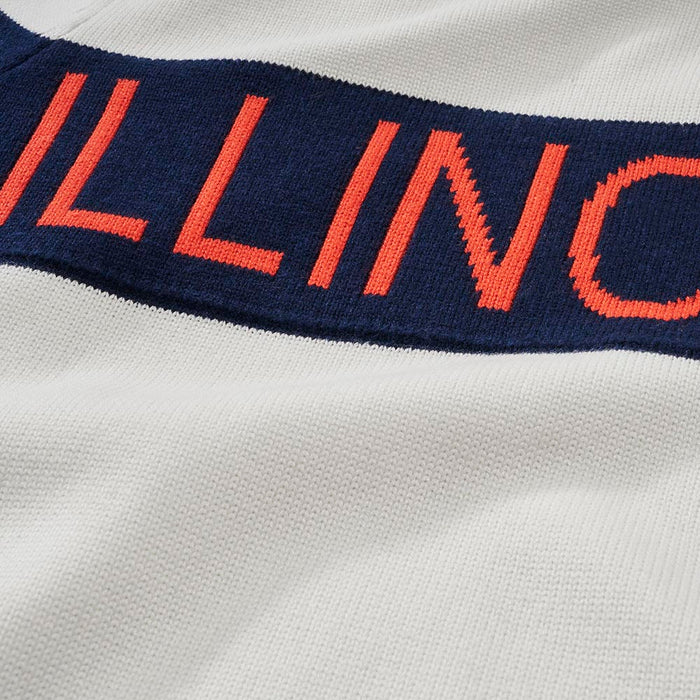 Women's Illinois Retro Stripe Sweater