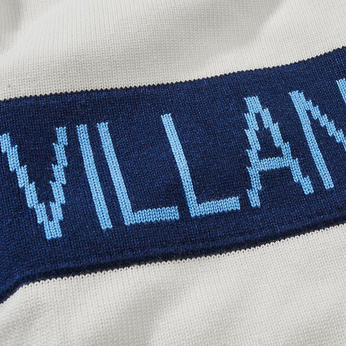 Women's Villanova Retro Stripe Sweater