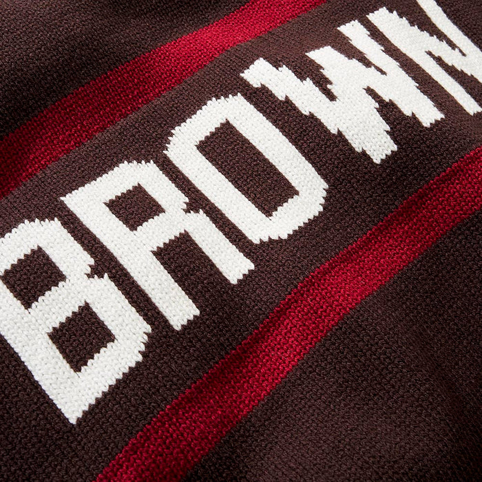 Brown Retro Stadium Sweater