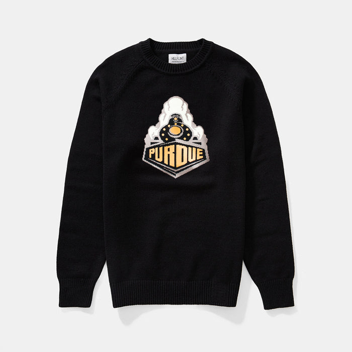 Cotton Purdue Mascot Sweater