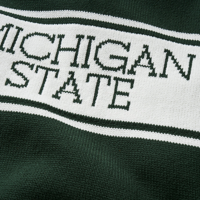 Michigan State Varsity Stripe Sweater