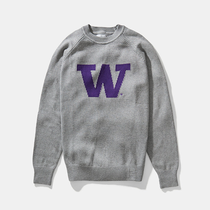 Washington Letter Sweater (Gray)