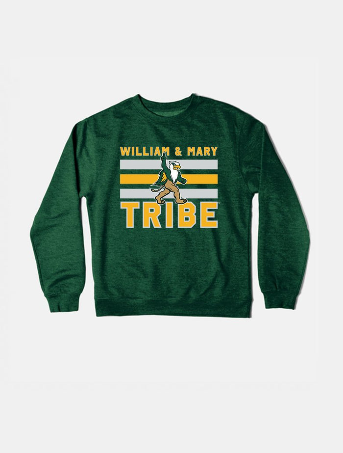 William & Mary Vintage Triple Stripe Crewneck Sweatshirt