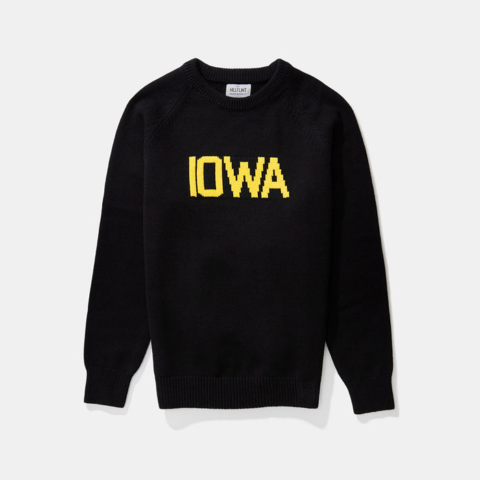 Cotton Iowa School Sweater