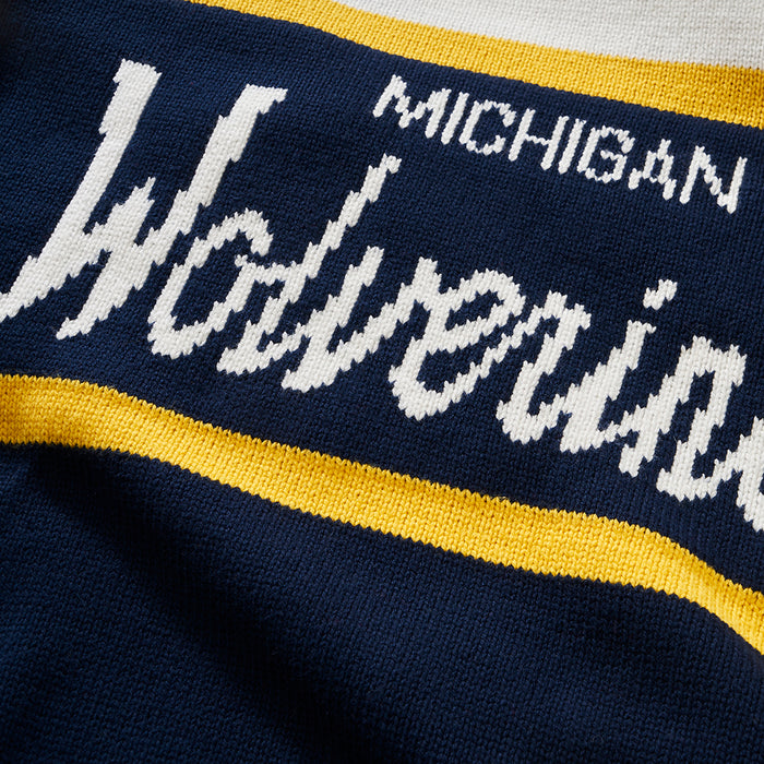 University of Michigan | Tailgating Sweater (Full Sleeve) | Michigan Wolverines Apparel