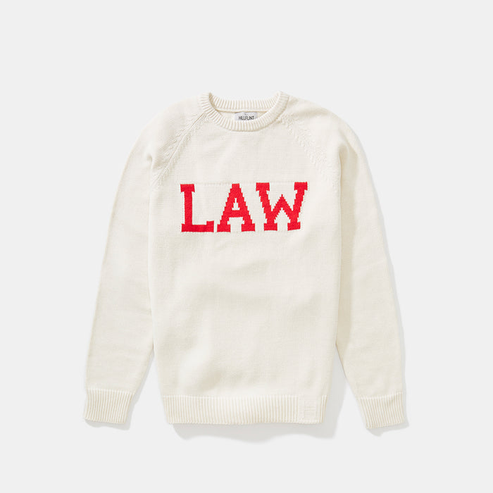 Cotton Cornell Law Sweater (Creme)