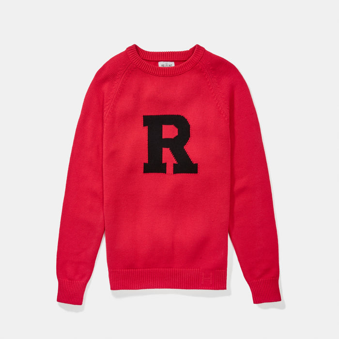 Rutgers Letter Sweater (Scarlet)