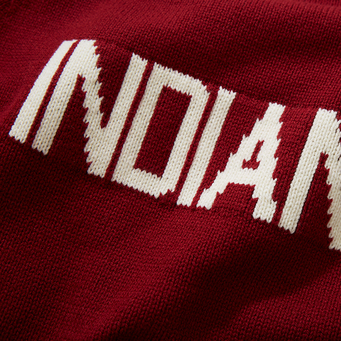 Cotton Indiana School Sweater
