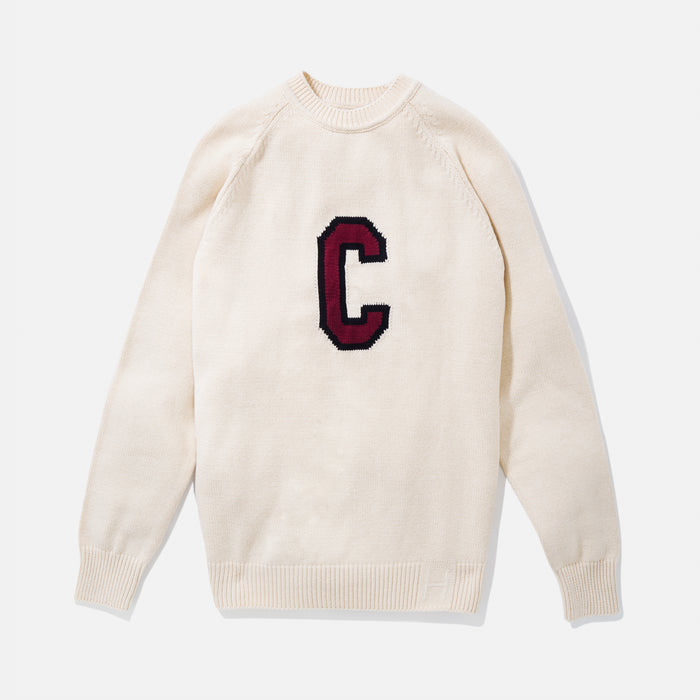 South Carolina Vintage Letter Sweater (Crème)