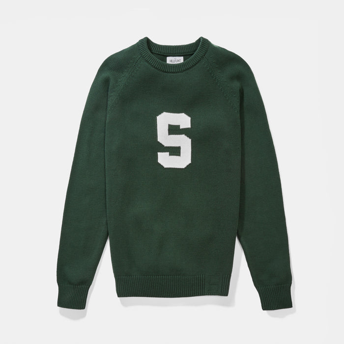 Michigan State Letter Sweater
