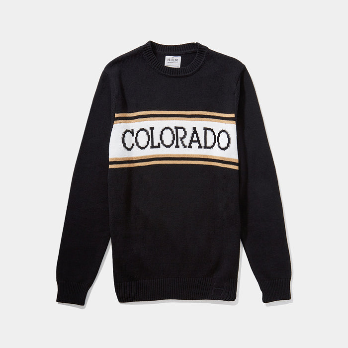 Colorado Varsity Stripe Sweater
