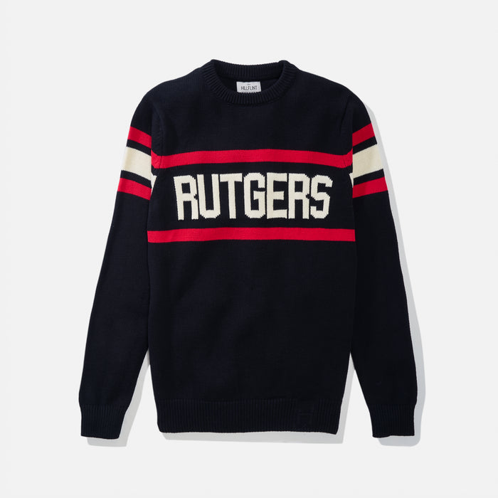 Rutgers Retro Stadium Sweater