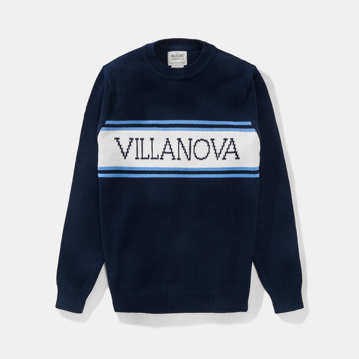 Villanova Varsity Stripe Sweater