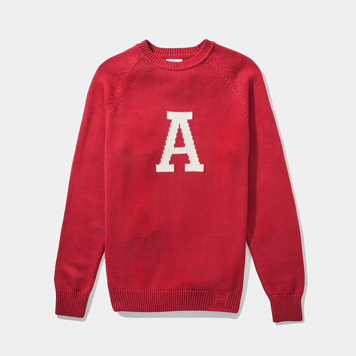 Alabama Vintage Letter Sweater