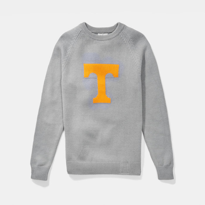 Merino Tennessee Letter Sweater - Gray