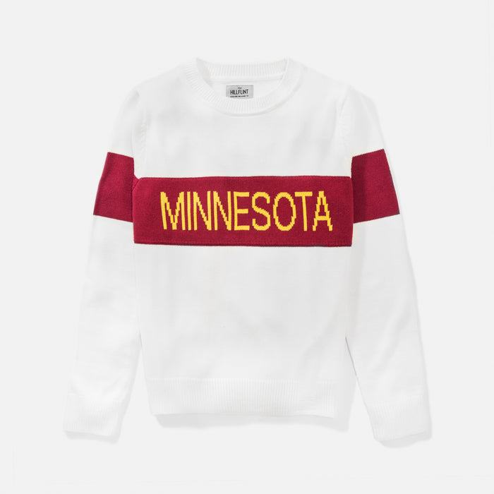 Women's Minnesota Retro Stripe Sweater