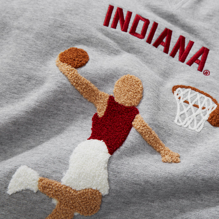 Women's Indiana Illustrated Sweatshirt
