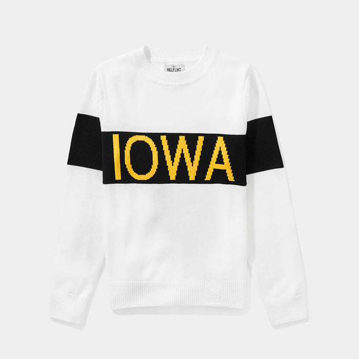 Women's Iowa Retro Stripe Sweater
