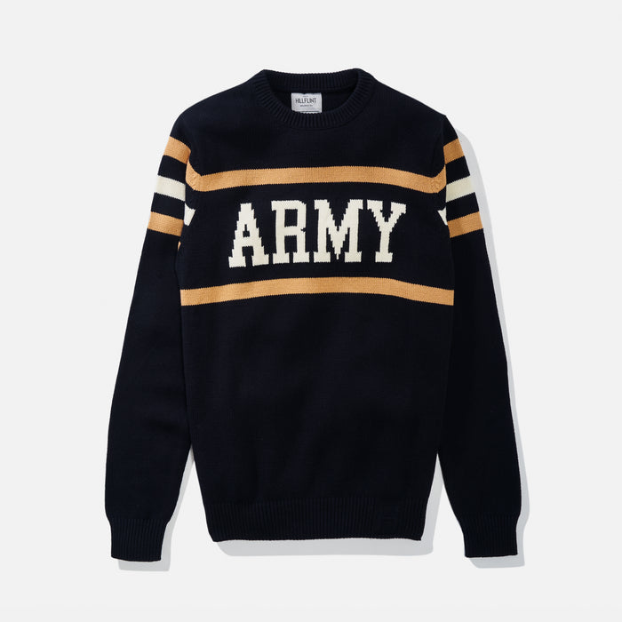 Army Retro Stadium Sweater