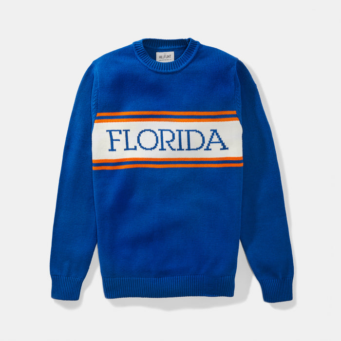 Florida Varsity Stripe Sweater