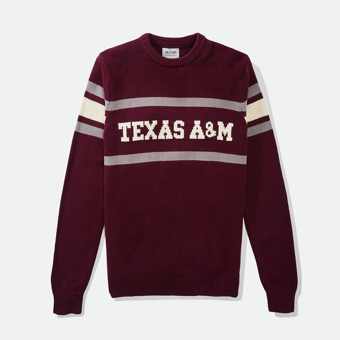 Texas A&M Retro Stadium Sweater (Aggie Maroon)