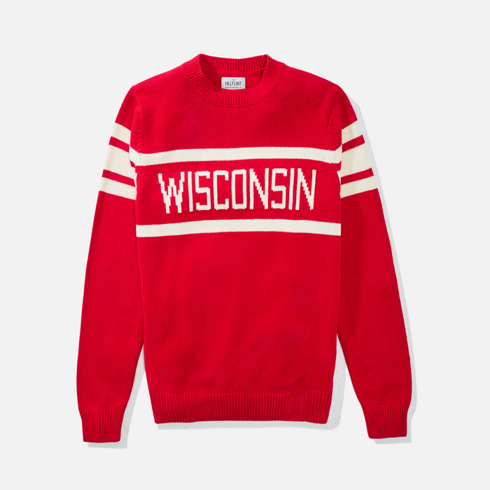 Women's Wisconsin Retro Stadium Sweater