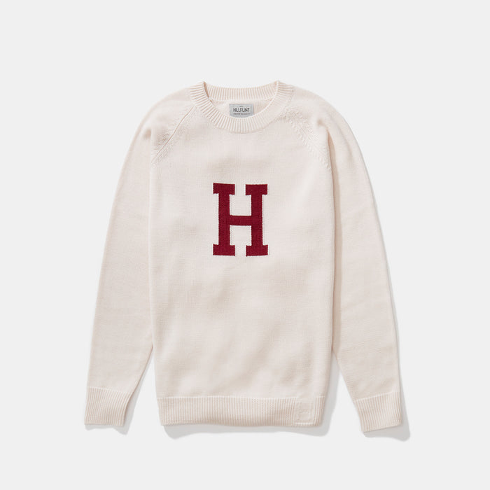 Harvard Letter Sweater (Creme)