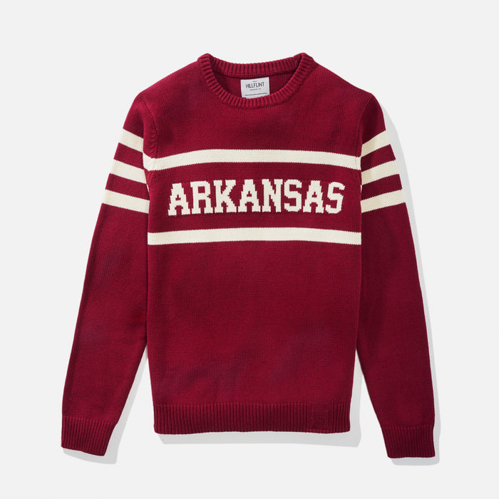 Arkansas Retro Stadium Sweater