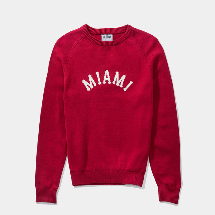 Miami (OH) Arch Sweater