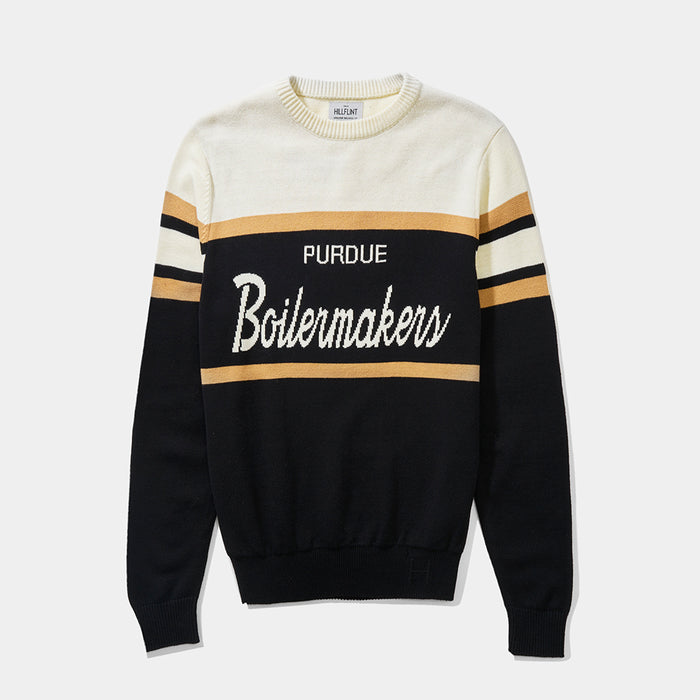 Purdue Tailgating Sweater