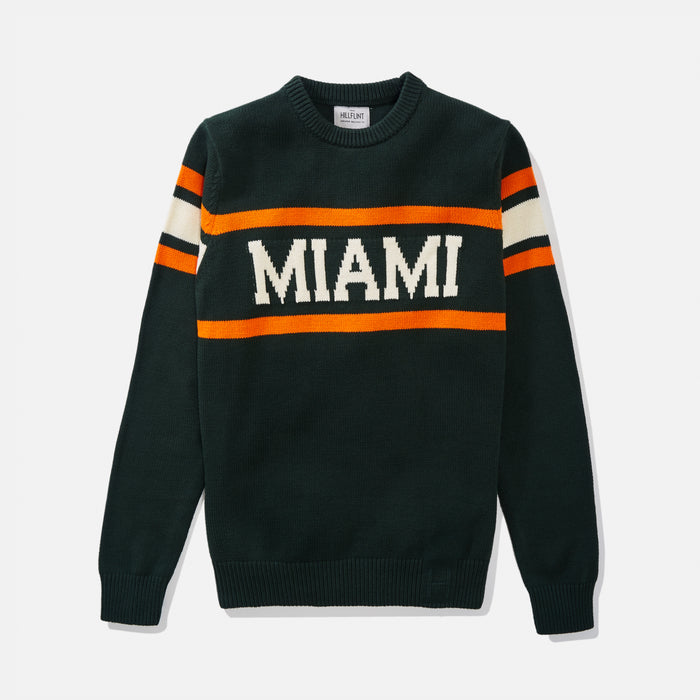 Miami Retro Stadium Sweater