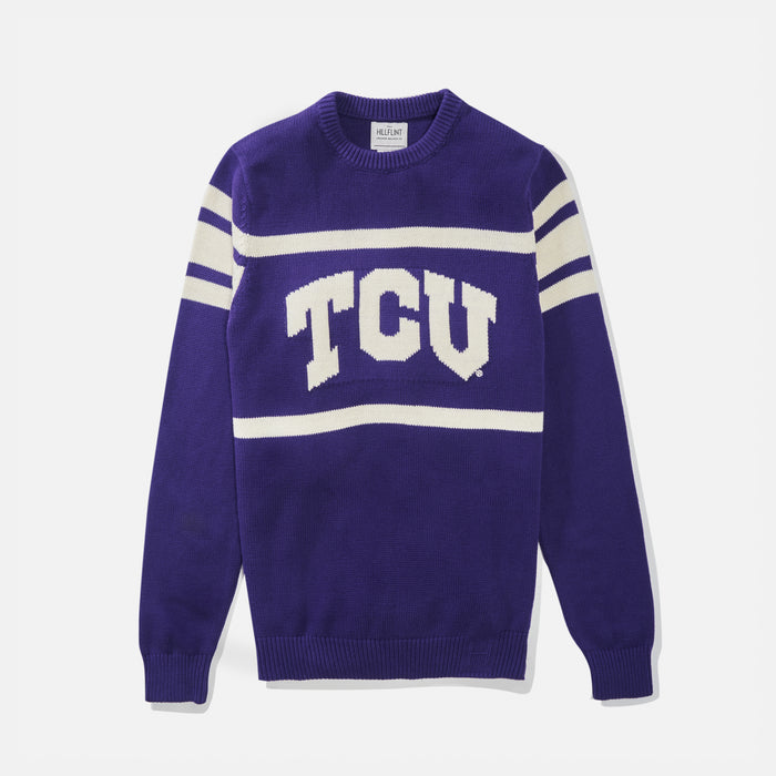 TCU Retro Stadium Sweater