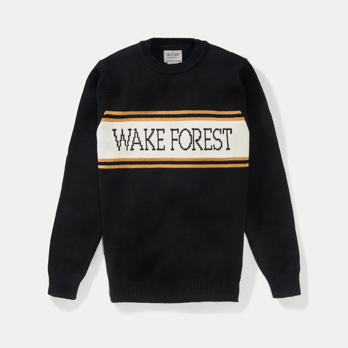 Wake Forest Varsity Stripe Sweater