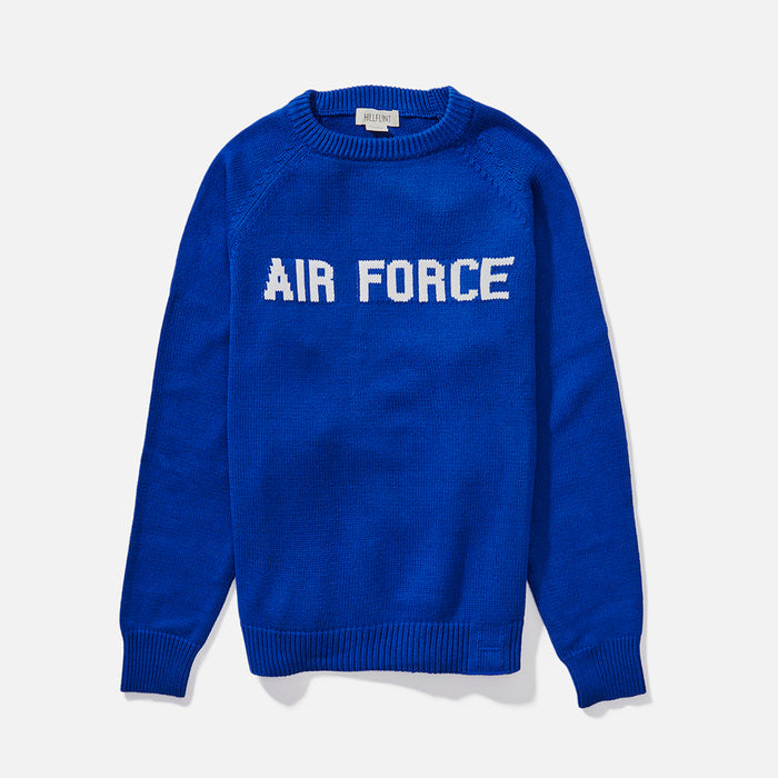 Cotton Air Force School Sweater