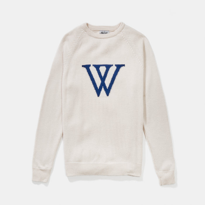 Wellesley Letter Sweater
