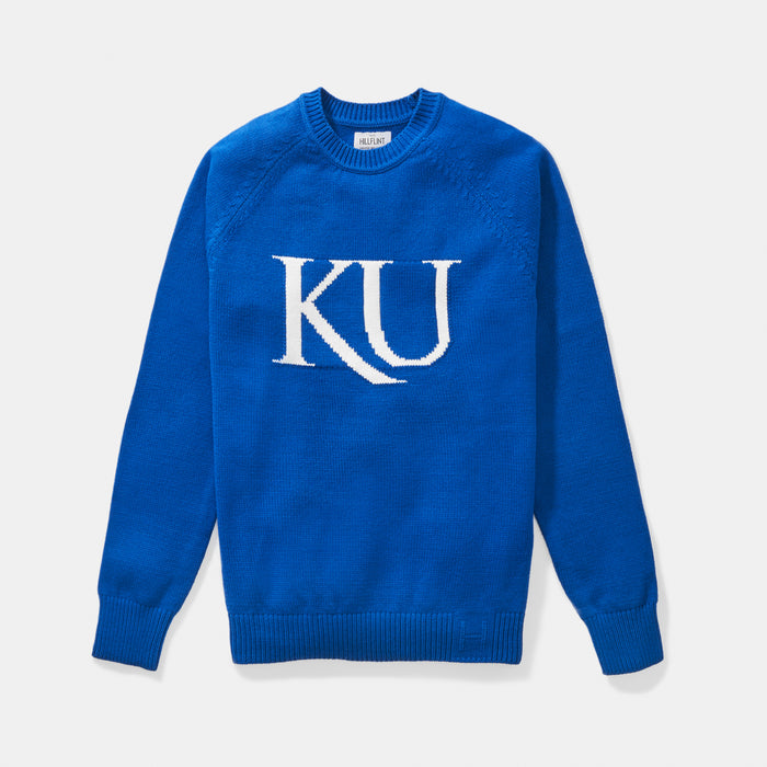 Kansas Letter Sweater