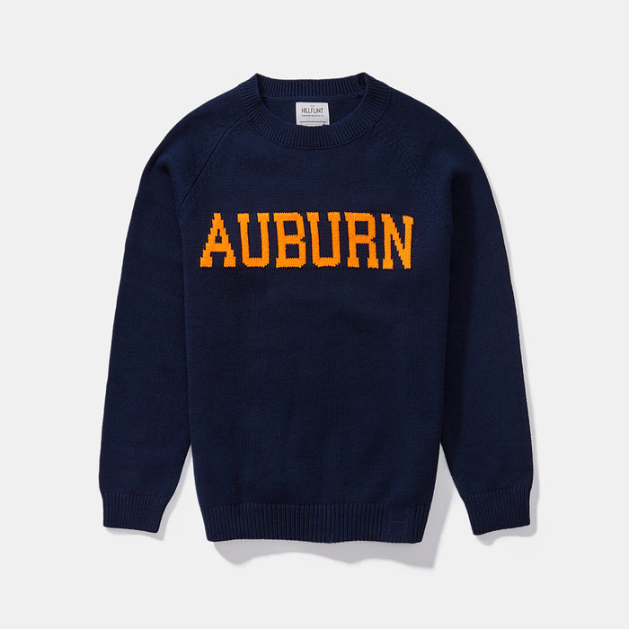 Women's Cotton Auburn School Sweater