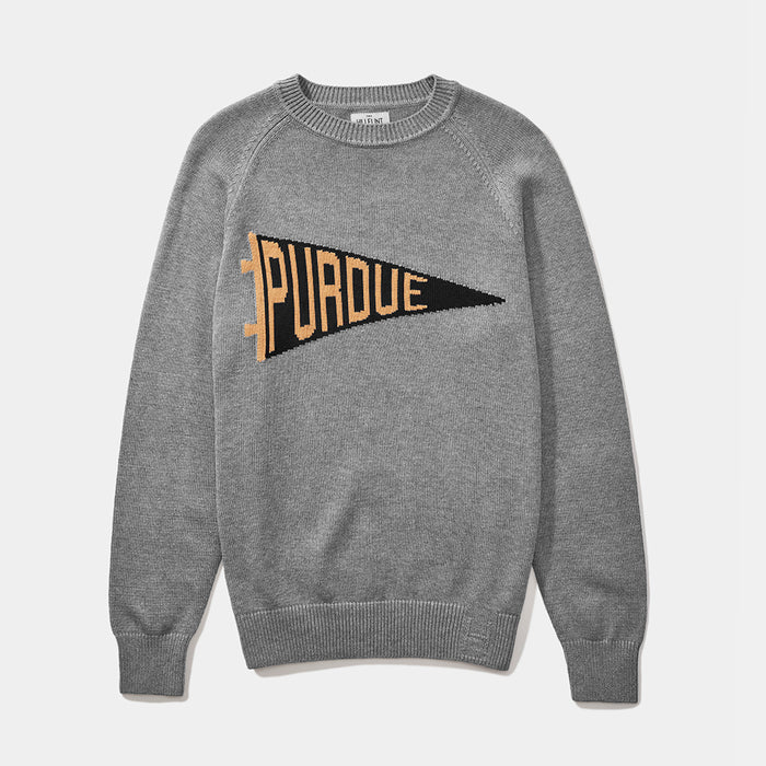 Purdue Pennant Sweater