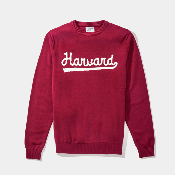 Harvard Varsity Script Sweater