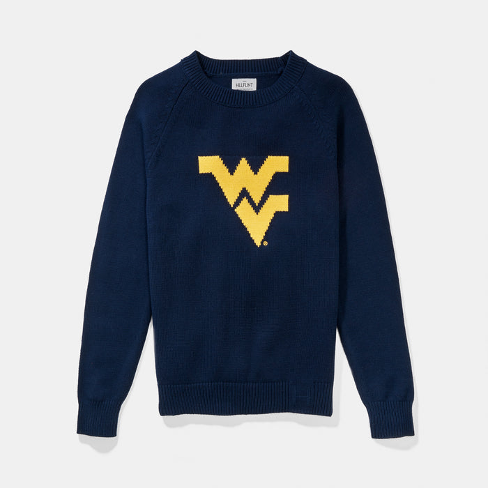 West Virginia Letter Sweater
