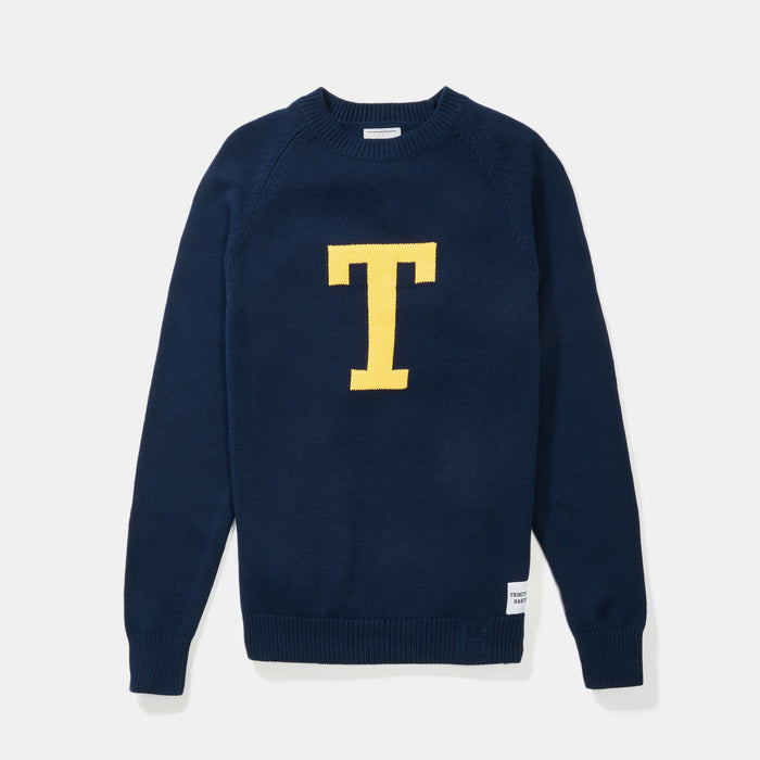 Trinity Letter Sweater