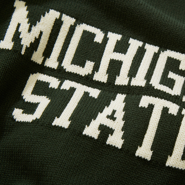 Cotton Michigan State School Sweater